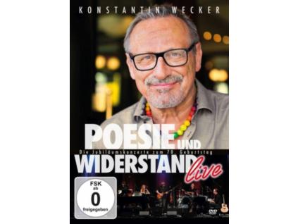 KONSTANTIN WECKER - Poesie Und Widerstand - Live (DVD)