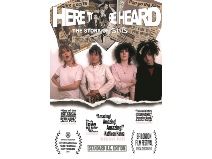 SLITS - Here To Be Heard: The Story Of The Slits (DVD)