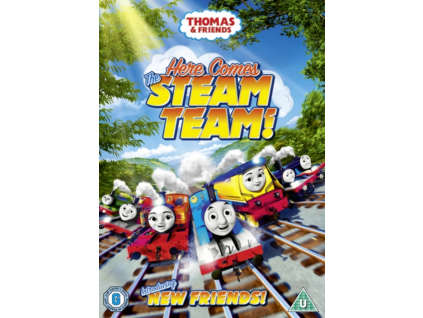 Thomas & Friends-Here Comes The Steam (DVD)