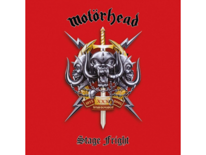 MOTORHEAD - Stage Fright (Live At The Philipshalle. Dusseldorf. Germany. December 7. 2004) (Blu-ray)