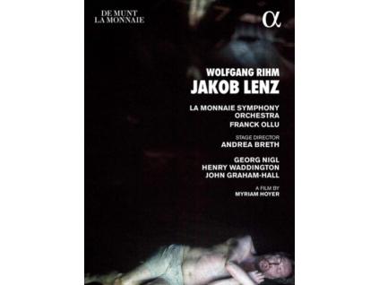 GEORG NIGL / HENRY WADDINGTON / JOHN GRAHAM-HALL / LA MONNAIE SYMPHONY ORCHESTRA / FRANCK OLLU - Wolfgang Rihm: Jakob Lenz (DVD)