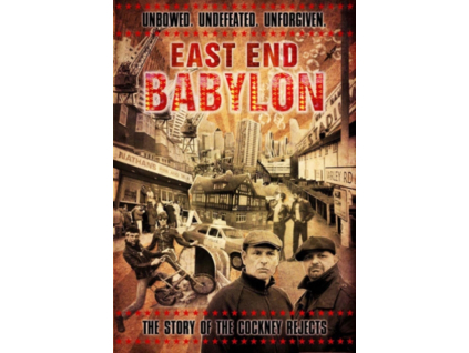 COCKNEY REJECTS - East End Babylon - The Story Of The Cockney Rejects (DVD)