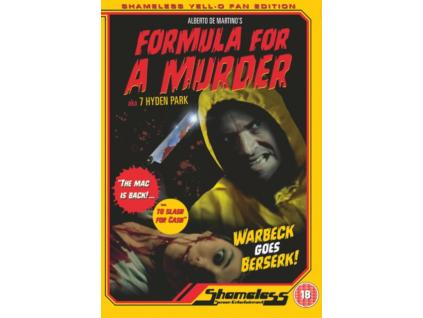 Formula For A Murder (DVD)