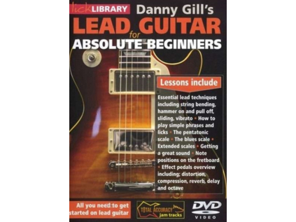 Lick Library: Lead Guitar For Absolute Beginners (DVD)