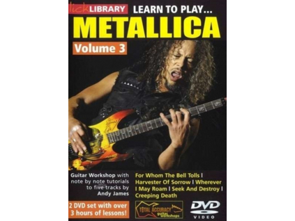 Lick Library: Learn To Play Metallica Volume 3 (DVD)