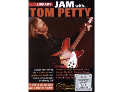 Lick Library: Jam With Tom Petty (DVD)