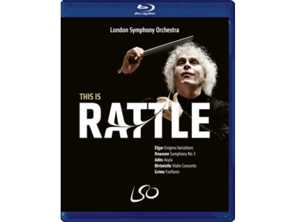 LONDON SYMPHONY ORCHESTRA / SIR SIMON RATTLE / CHRISTIAN TETZLAFF - This Is Rattle (Blu-ray + DVD)