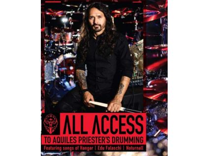 AQUILES PRIESTER - All Access To Aquiles Priesters Drumming (Blu-ray)