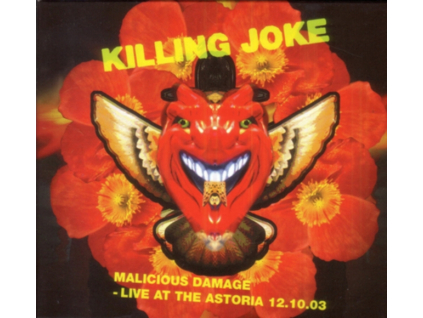 KILLING JOKE - Malicious Damage - Live At The Astoria 12.10.03 (DVD)