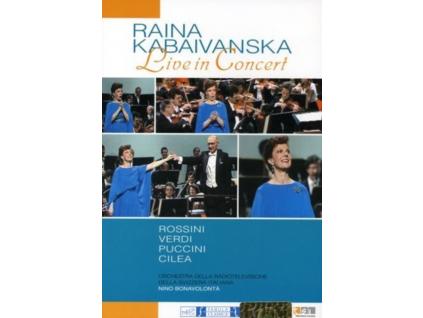 RAINA KABAIVANSKA - Live In Concert (DVD)