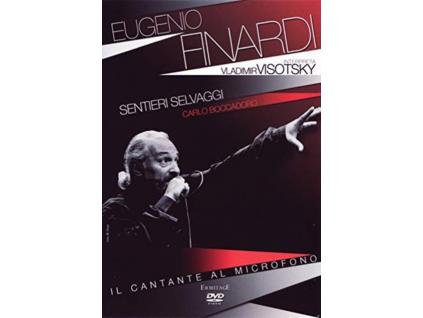 EUGENIO FINARDI - Interpreta Vladimir Visotsky (DVD)