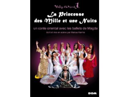 VOILES DORIENTS MAGDA - La Princesse Des Mille Et Une Nuits (DVD)