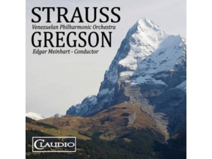 VENEZUELAN PO / MEINHART - Richard Strauss: Ein Heldenleben / Edward Gregson: Tuba Concerto (Blu-ray Audio)