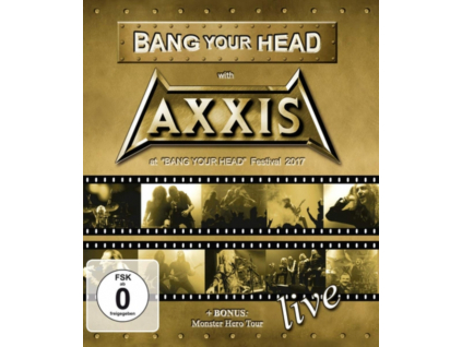 AXXIS - Bang Your Head With Axxis (Blu-ray)