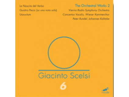 CONCENTUS VOCALIS / VIENNA CC - Scelsi / The Orchestral Works - 2 (DVD)