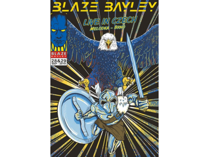 BLAZE BAYLEY - Live In Czech (DVD)