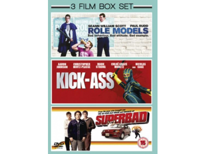 Superbad / Role Models / Kick-Ass (DVD)