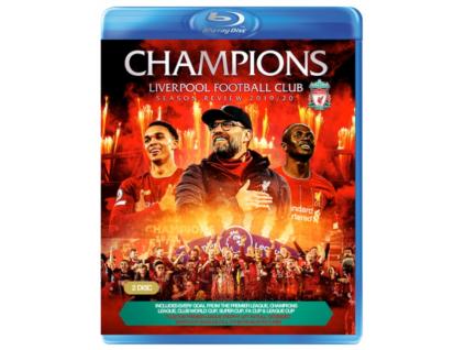 Champions. Liverpool Football Club Season Review 2019-20 Blu-Ray