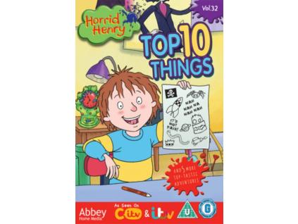 Horrid Henry - Top 10 Things (DVD)