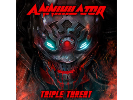 ANNIHILATOR - Triple Threat (Blu-ray + CD)