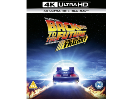 Back To The Future: 1. 2 And 3 (Blu-ray 4K)