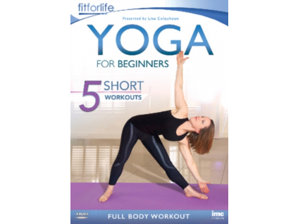 Yoga for Beginners -  5 Short Workouts - Full Body Workout (DVD)