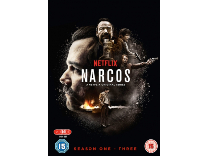 Narcos S1-S3 (DVD)
