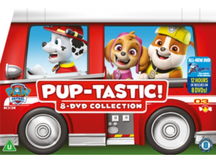 Paw Patrol: Pup-Tastic Dvd Collection (DVD)