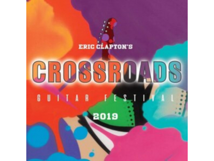 ERIC CLAPTON - Eric Claptons Crossroads Guitar Festival 2019 (DVD)