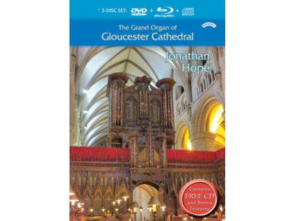 JONATHAN HOPE - The Grand Organ Of Gloucester Cathedral (DVD)