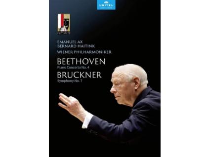 AX / WIENER PHIL / HAITINK - Bernard Haitink - Farewell Concert At Salzburg Festival: Ludwig Van Beethoven: Piano Concerto No. 4 / Anton Bruckner: Symphony No. 7 (DVD)