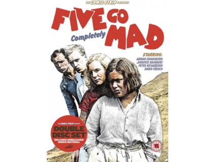 COMIC STRIP PRESENTS - Five Go Mad (DVD)