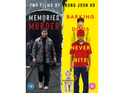 Memories Of Murder / Barking Dogs Never Bite (Blu-ray)