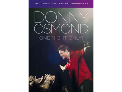 DONNY OSMOND - Live In Birmingham (DVD)