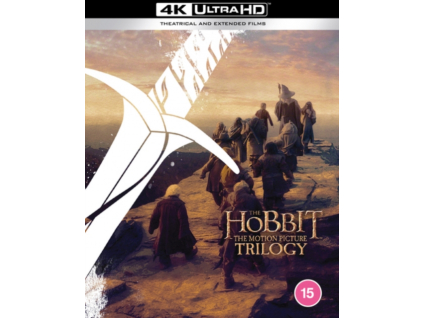 Hobbit Trilogy: Theatrical & Extended Collection (Blu-ray 4K)