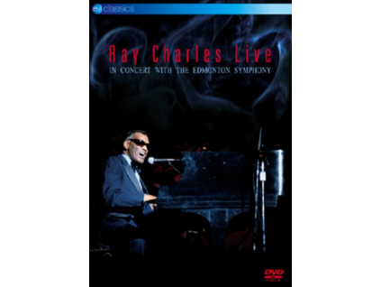 RAY CHARLES - Live In Concert With The Edmonton Symphony (DVD)