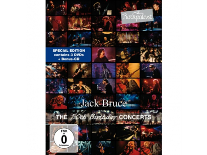 JACK BRUCE  FRIENDS - Rockpalast The 50Th Birthday Concerts (DVD)