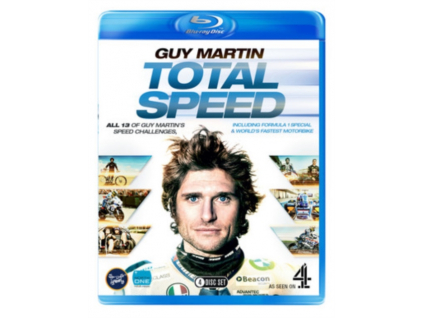Guy Martin Total Speed Boxset Series 1 2 3 And F1 Special Bluray (Blu-ray)