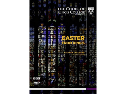 KINGS COLLEGE CAMBRIDGE CHOIR - Easter From Kings (DVD)