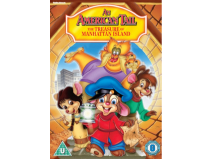 An American Tail 3  The Treasure Of (DVD)