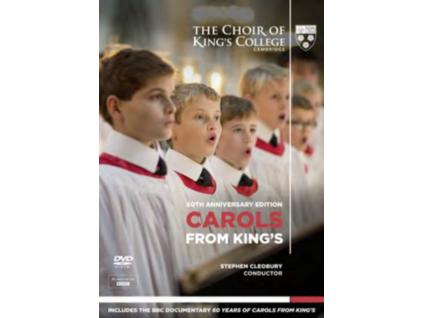 KINGS COLLEGE CHOIR - Carols From Kings  60Th Anniversary (DVD)