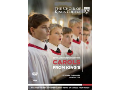 KINGS COLLEGE CHOIR - Carols From Kings  60Th Anniversary (DVD)