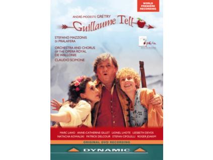 LOPERA ROYAL DE WALLONIE - Gretryguillaume Tell (DVD)