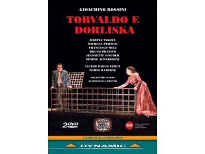 TAKOVAPERTUSIPABLO PEREZ - Rossinitorvaldo E Dorliska (DVD)