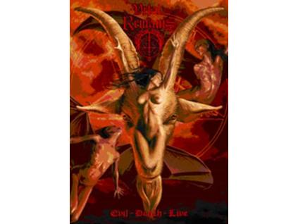 VITAL REMAINS - Evil Death Live (DVD)