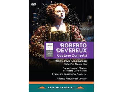 STEFAN POP - Roberto Devereux: Teatro Carlo Felice (Lanzillotta) (DVD)