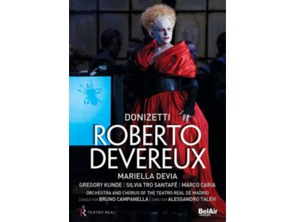 MARIELLA DEVIA / MARCO CARIA - Donizetti / Roberto Devereux (DVD)