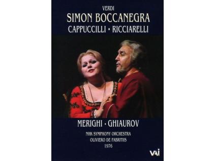 CAPPUCCILLI / RICCIARELLI - Verdi: Simon Boccanegra (DVD)