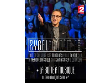JEAN-FRANCOIS ZYGEL - La Zygel Academie + La Boite A Musique 7 (DVD)