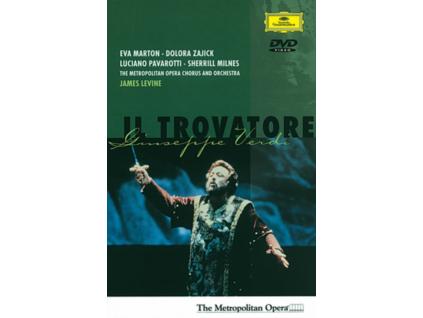 METROPOLITAN OPERA ORCHESTRA JAMES LEVINE - Verdi: Il Trovatore (DVD)